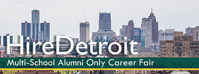 HireDetroit Alumni Only Career Fair