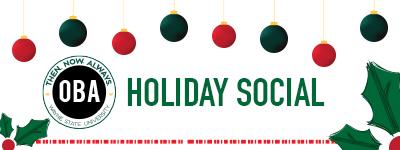 Organization of Black Alumni Holiday Social