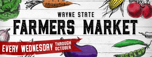 Wayne State Farmers Market has returned