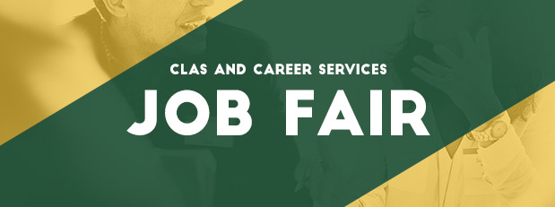 CLAS students and alumni, attend a job fair on February 4