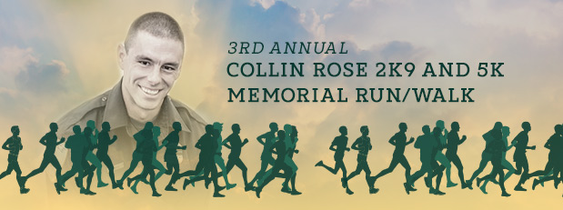 Collin Rose 2K9 Memorial Run/Walk and 5K, Oct. 12