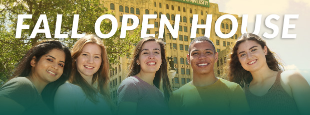 Fall Open House | September 21