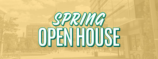 Spring open house, March 23
