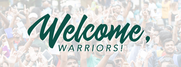 Welcoming all Warriors!