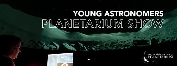 Take your favorite young person to the planetarium!